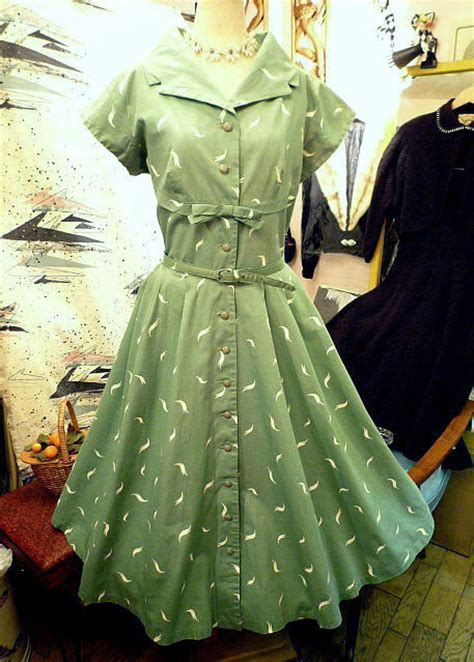50's ミントグリーン ワンピース - ♪40'S 50'S 60'S Vintage&Collectibles