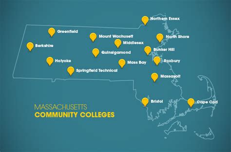 Our Campuses   Massachusetts Community Colleges