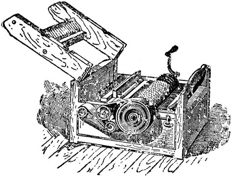 Whitney's Cotton Gin | ClipArt ETC