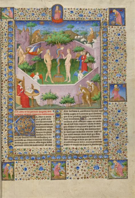 The Story of Adam and Eve (Getty Museum)