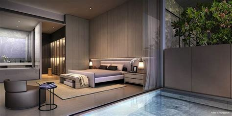 Cluny Park Residence | modern #bedroom #suite | Singapore