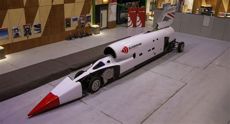 Project Bloodhound Relaunched With New Livery, Tests To
