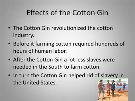 PPT - Eli Whitney and the Cotton Gin 1793 PowerPoint