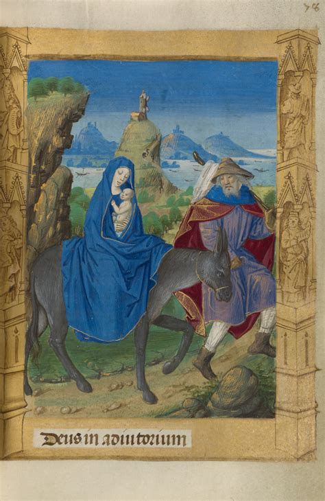 The Flight into Egypt (Getty Museum)